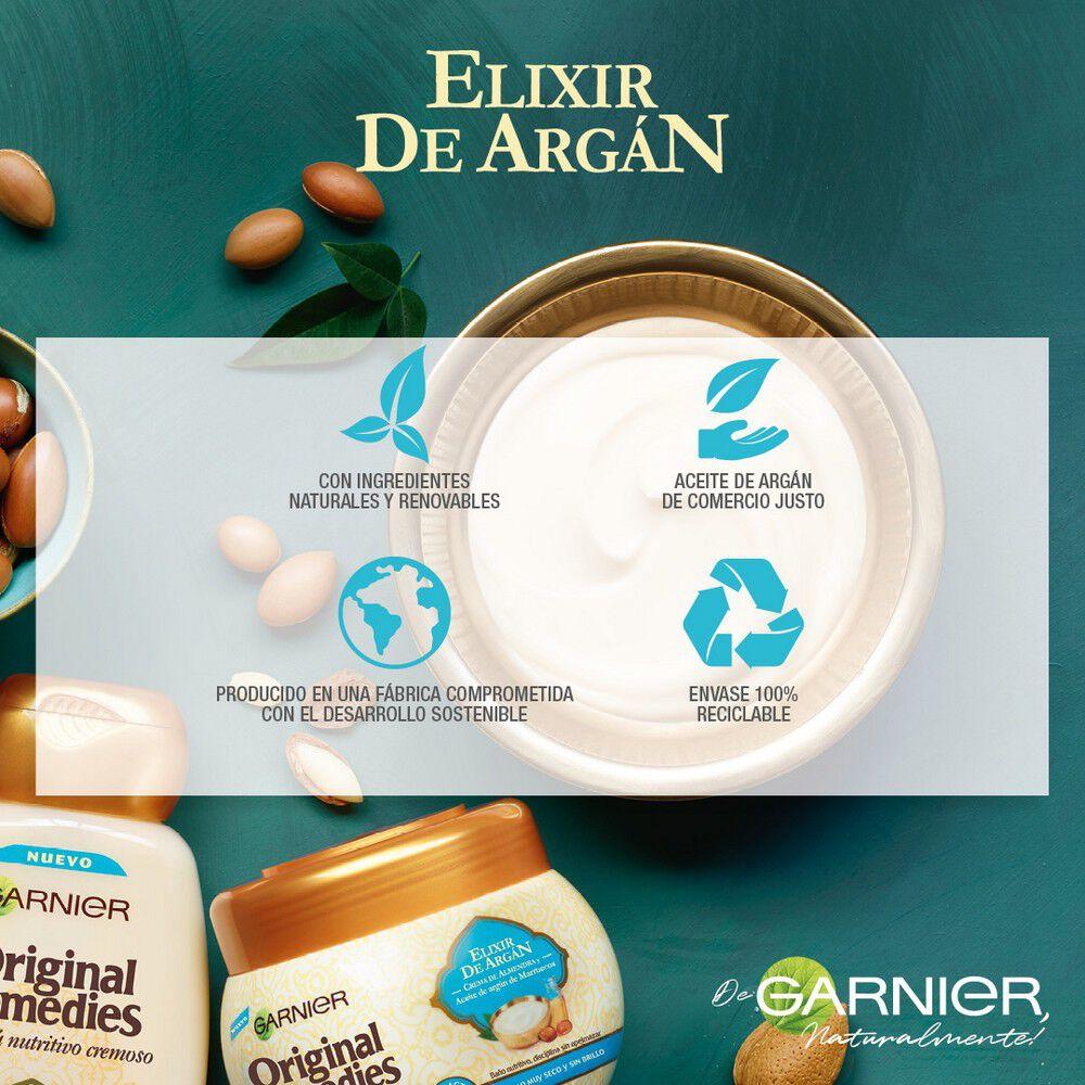 Aceite-En-Crema-Protector-S/Aclara-Elixir-de-Argán-200-mL-imagen-5