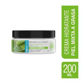 Skinfood Crema Hidratante 3N1 Aloe Vera Piel Mixta a Grasa 200 mL