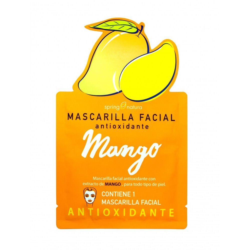 SPRING NATURAL MASCARILLA FACIAL ANTIOXIDANTE MANGO 25ML image number null