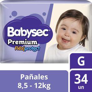 Pañales Premium Flexiprotect 34 Pañales Talla G
