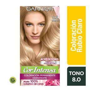 Coloración Cor Intensa 8.0 Rubio Claro Garnier