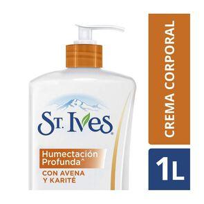 Crema Corporal Humectante  Avena Y Karite 1000 mL
