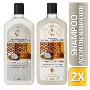 Kit-Capilar-Ultra-Hidratante-Jalea-Real-y-Coco-Shampoo-415-mL-+-Acondicionador-415-mL-image