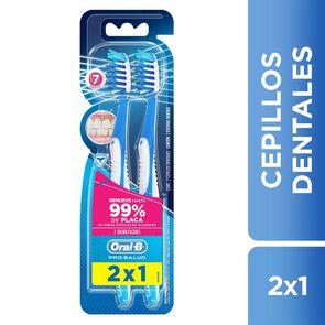 Cepillos dentales Pro-Salud 7 Beneficios 2 Unidades