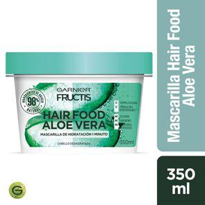 Garnier Hair Food Aloe Vera Mascarilla de Reparación 1 Minuto 350 mL