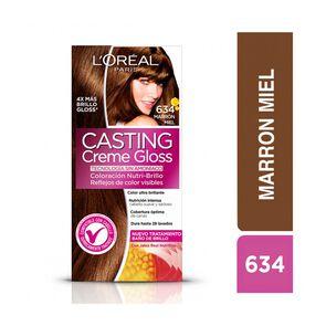 Casting Creme Gloss 634 Marrón Miel Tintura 45 gr