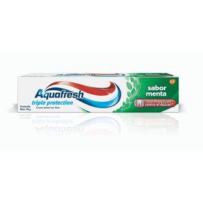 Crema Dental Triple Acción con Flúor Sabor Menta 126 grs