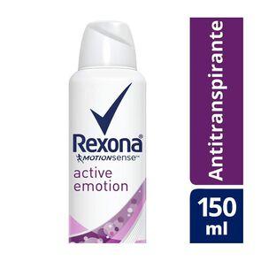Women Antitranspirante Active Emotion Aerosol 150 mL
