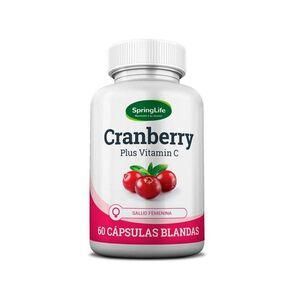 Cranberry Plus Vitamina C Capsulas Blandas X60