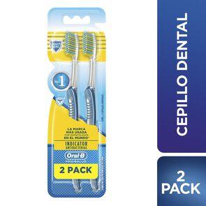 Cepillos Dentales Pro-Salud Indicator Antibacterial 2 Unidades
