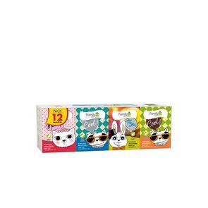 Pañuelo Desechable Triple Hoja 12 Paquetes con 8 Pañuelos