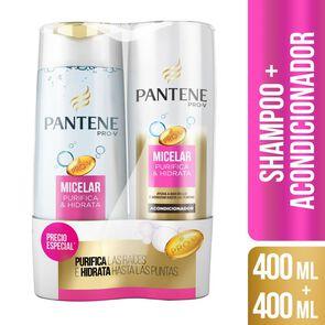 Pack Shampoo + Acondicionador Purifica e Hidrata