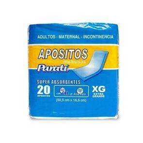 Apósitos Multiusos Super Absorbentes Extra Grande X20