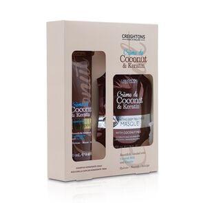 Estuche Shampoo Coconut Keratin 250 mL + Mascara 100 mL