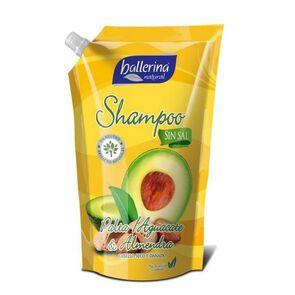 Shampoo Sin Sal Palta Aguacate y Almendra Doypack 900 mL