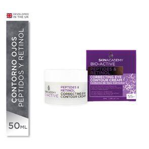 Crema Contorno Ojos Antiarrugas 55 + Peptides & Retinol 25 mL