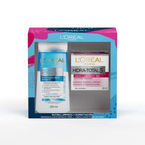 Hidra Total 5 Crema Día 50 mL + Desmaquillante Bifásico 125 mL