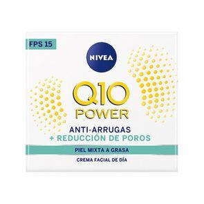 Crema Facial Antiarrugas Q10 Power Dia Fps20 Piel Normal A Mixta 50 mL