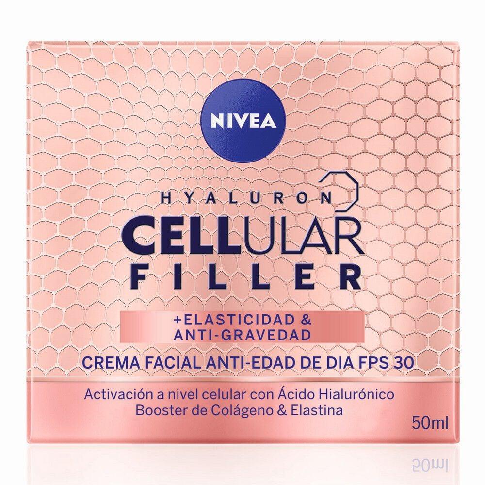 Crema Facial Hyaluron Cellular Filler Elasticidad & Anti-Gravedad Día 50 ml image number null