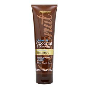 Shampoo Hidratante Creme De Coconut & Keratin Moisturising  250 mL