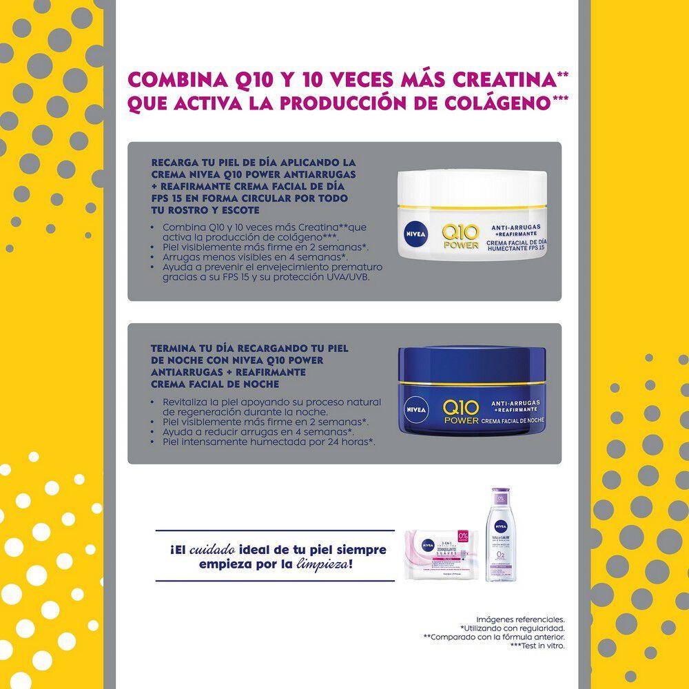 Crema Q10 Antiarrugas Día 50 mL + Noche 50 mL image number null