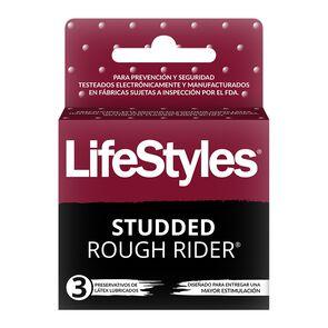 LifeStyle-Studded-Rough-Rider-3-Preservativos-image
