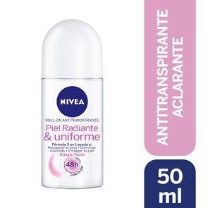 Desodorante Roll On Aclarado Natural Classic Touch 50 mL