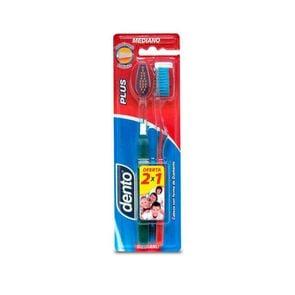 Cepillo-Dental-Dento-Plus-Mediano-2-Unidades-imagen