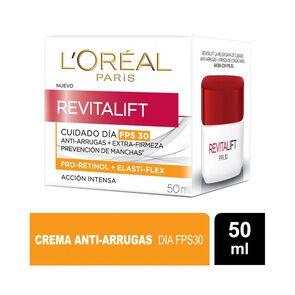 Crema De Día Con Fps 30 Anti-Arrugas Revitalift 50 Ml