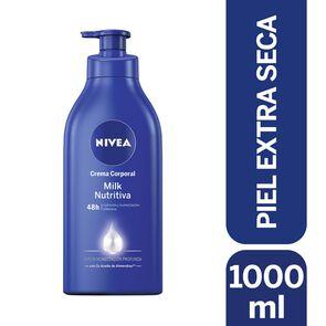 Crema Corporal Milk Nutritiva Piel Extra Seca 1000 mL