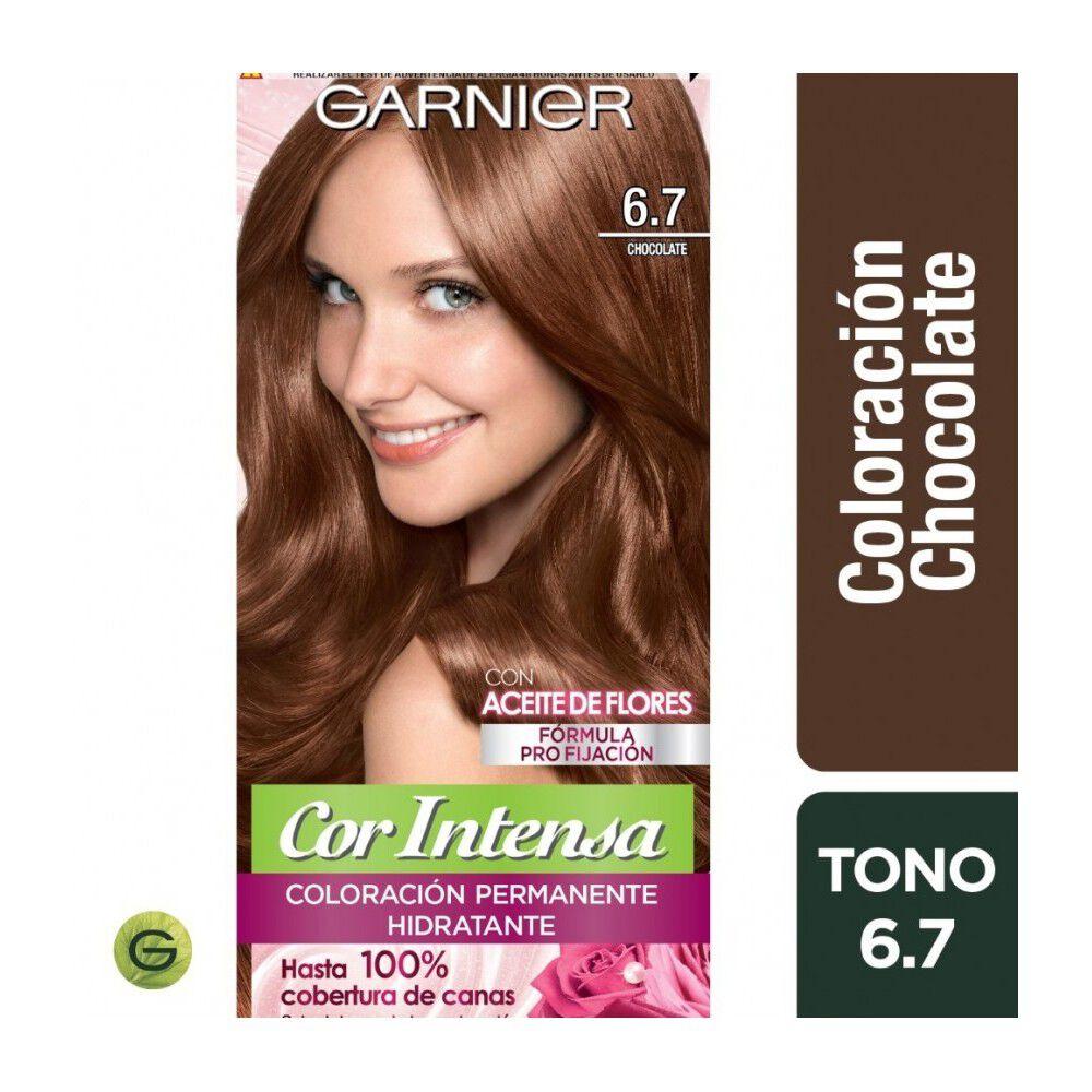Coloración Cor Intensa  6.7 Chocolate Garnier image number null
