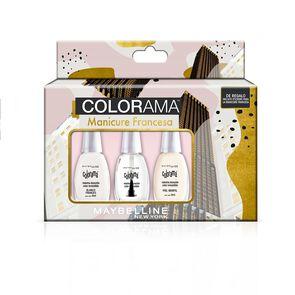 Colorama Manicure Francesa 2 Esmaltes + Brillo