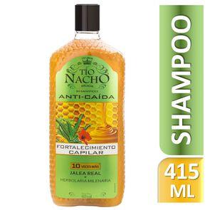 Shampoo Prevencion Caida Herbolaria Milenaria Fortalecimiento Capilar 415 mL