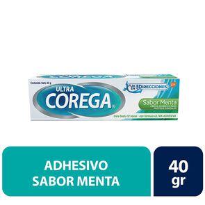 Crema Adhesiva Prótesis Dental Sabor Menta 40 gr