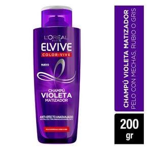Color-Vive Shampoo Violeta Matizador A/Efecto Anaranjado 200 mL