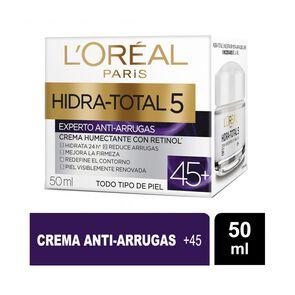 Crema De Día Anti-Arrugas +45 Hidra-Total 5 50 ml
