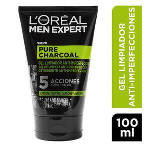 Men-Expert-Gel-Limp.Anti-Imperfecciones-Pure-Charcoal-5-Acciones-100-mL-imagen