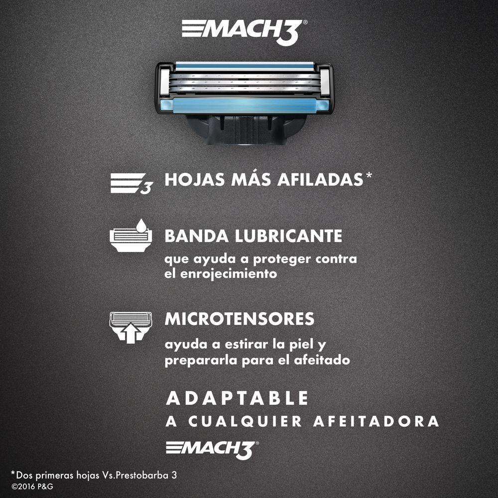 Cartuchos-para-afeitar-Mach3-4-Unidades-imagen-5