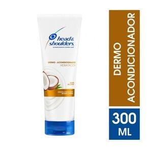 Dermo Acondicionador Control Caspa Hidratación Aceite de Coco 300 mL
