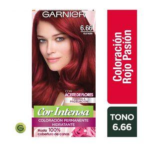 Coloración Cor Intensa 6.66 Rojo Pasion Garnier