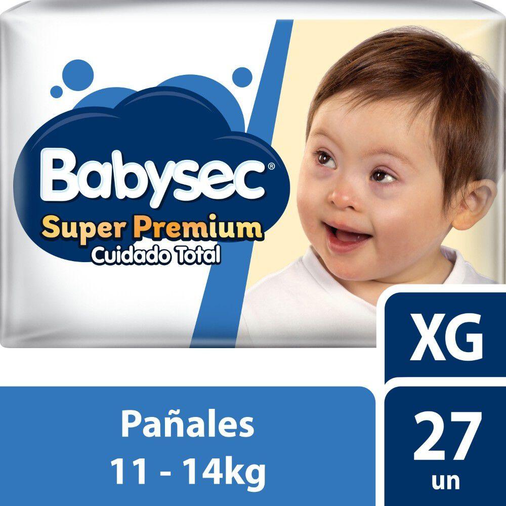 Super Premium Pañales Desechables Talla XG 27 Unidades image number null