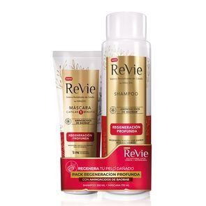 Regeneración Profunda Shampoo 350 mL + Mascara Capilar 170 mL