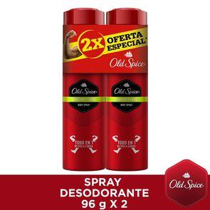 Pack Desodorante Body Spray Showtime 152 mL x 2