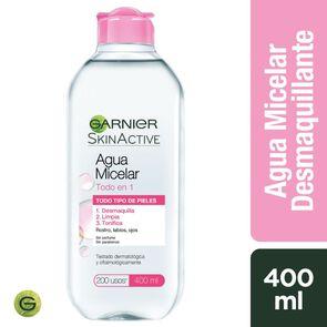 Skin Naturals Agua Micelar Todo en 1 Todo Tipo de Piel 400 mL