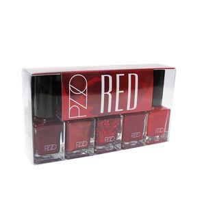 Nial Lacquer Red Esmaltes de Uñas X5