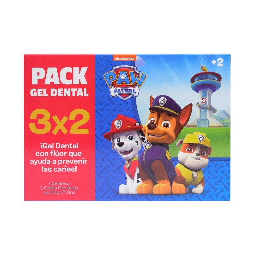 Pack Gel Dental Niño + 2 50 grs 3x2