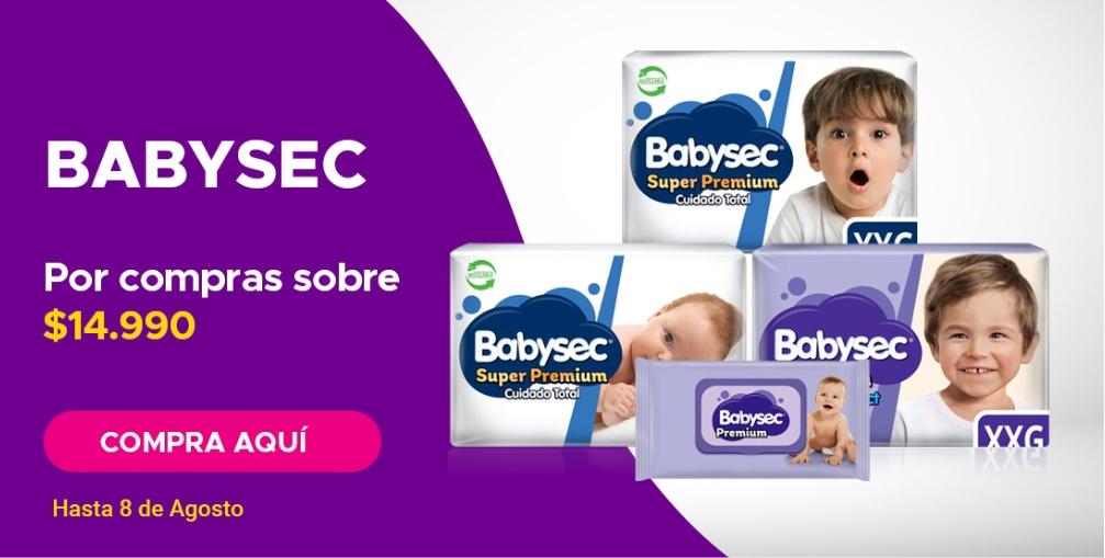 Despacho gratis Babysec