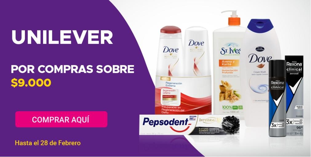 Despacho gratis Unilever